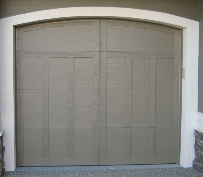 Custom doors kelowna custom doors for Wood veneer garage doors
