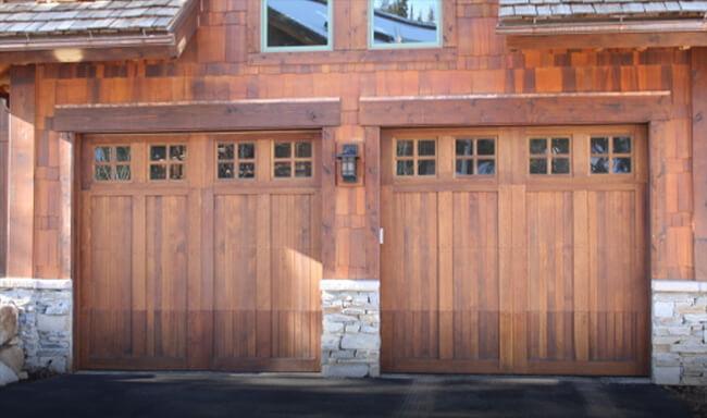 Custom Wood & Legacy Residential Garage Doors