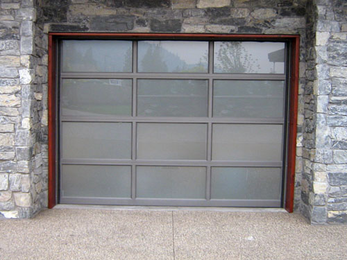 Esteem With Frosted Tinted Glass Legacy Garage Doors