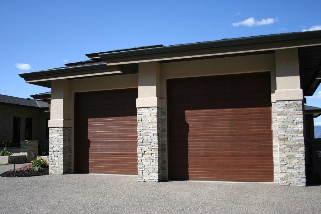 Steelcraft Contemporary Cedar & Steelcraft Contemporary Cedar - Legacy Garage Doors